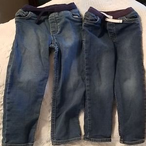 Carters Jean's 2 pairs